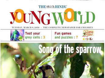 Young World Newspaper Advertising