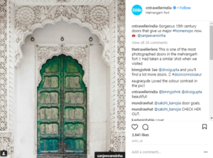 Doors of India Influencer Campaign