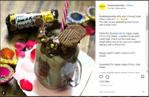 Parle Influencer Campaign
