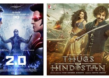 Advertise in Cinemas During Thugs of Hindostan and 2.0