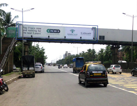 Advertising on Hoarding in Kannamwar Nagar, Mumbai