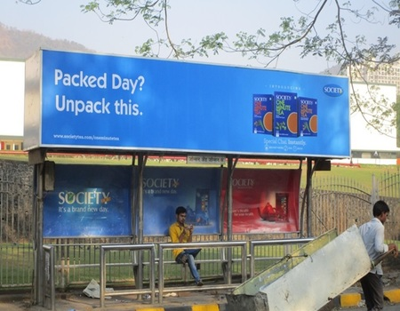 Advertising on Bus Shelter in Mulund West,, Mumbai