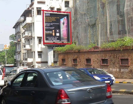 Advertising on Hoarding in Jekegram, Thane