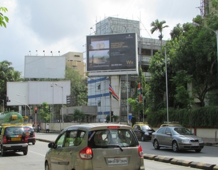 Advertising on Hoarding in Aparna Vaibhav Society, Mumbai