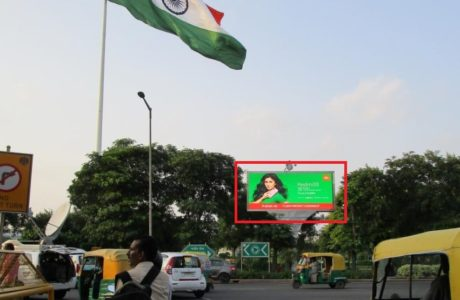 Outdoor Digital advertising on Entery-1, to Connaught Place janpath Road, New Delhi