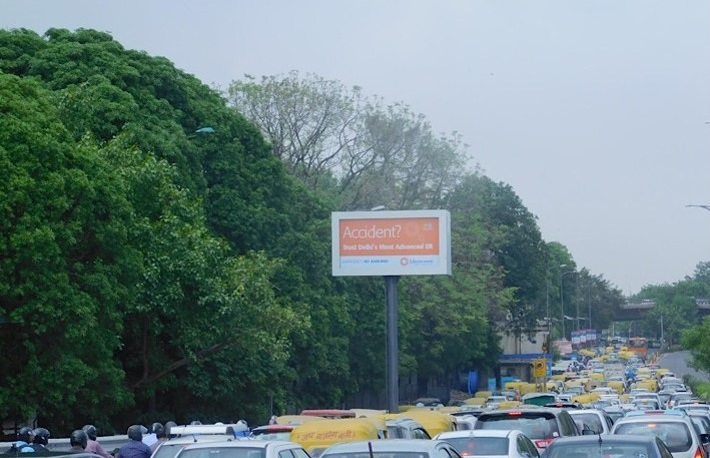 Outdoor advertising in Lajpat Nagar