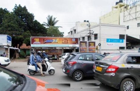 Bus shelter advertising in Bellandur