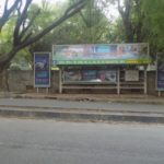 Bus shelter advertising in koramangala
